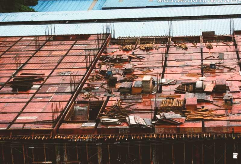 总结拆除建筑模板6大要点