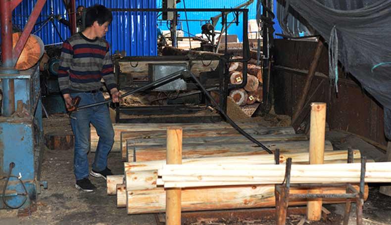 刨板机-建筑木模板生产设备
